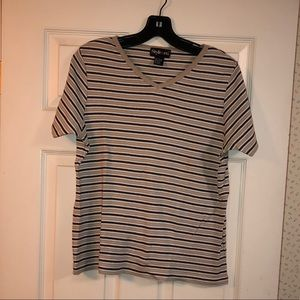 Style and Co striped shirt